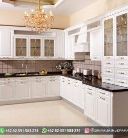 Model Kitchen Set Kayu Jati Jepara