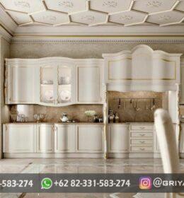 Model Kitchen Set Ukir Murah