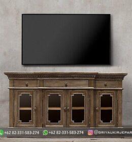 Model Meja TV Mewah Jepara