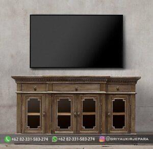 Model Meja TV Mewah Jepara 300x293 - Model Meja TV Mewah Jepara