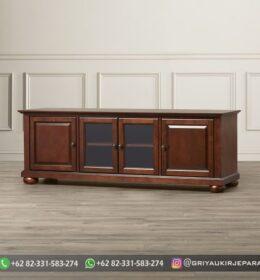 Model Meja TV Minimalis Jepara