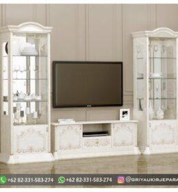 Model Meja TV Modern Mebel Jepara