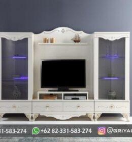 Model Meja TV Ukiran Minimalis Murah