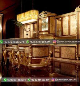 Model Set Dapur Ukir Mebel Jepara