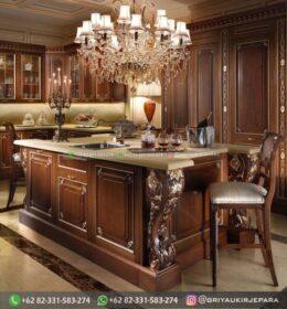 Model Set Dapur Ukiran Minimalis Murah