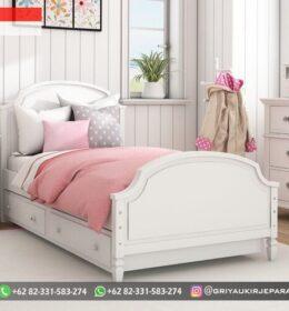 Model Tempat Tidur Anak Modern Mebel Jepara