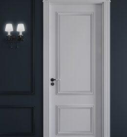 Pintu Jati Minimalis Kode 133