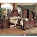 Set Tempat Tidur Furniture Jati Jepara