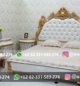 Set Tempat Tidur Jati Mebel Jepara