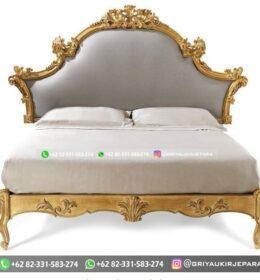 Set Tempat Tidur Jati Murah