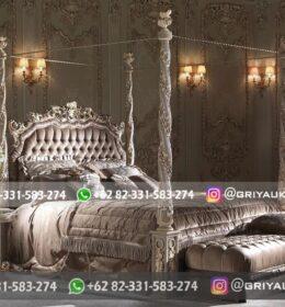 Set Tempat Tidur Kayu Jati Griya Ukir Jepara