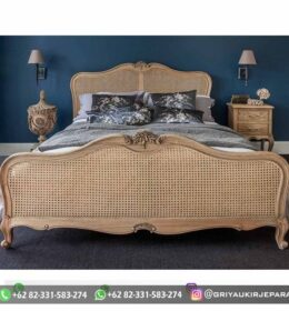 Set Tempat Tidur Kayu Jati Murah