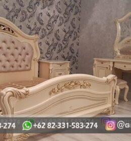 Set Tempat Tidur Model Mewah Griya Ukir Jepara