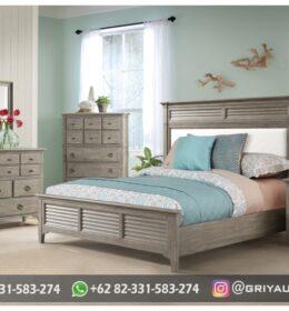 Set Tempat Tidur Model Mewah Jepara
