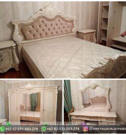 Set Tempat Tidur Ukiran Mewah Mebel Jepara