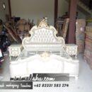 Set Tempat tidur Furniture Jati Simpel