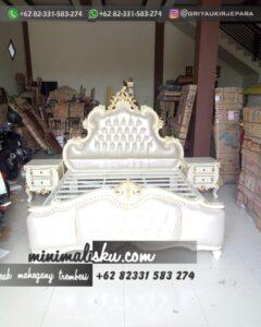 Set Tempat tidur Furniture Jati Simpel 240x300 - Set Tempat tidur Furniture Jati Simpel