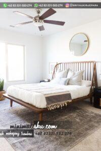 Set Tempat tidur Minimalis Jepara 200x300 - Set Tempat tidur Minimalis Jepara