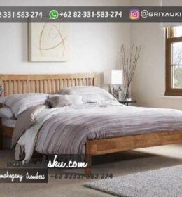 Set Tempat tidur Ukir Minimalis