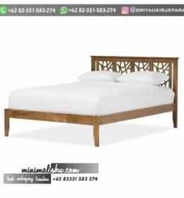 Tempat Tidur Minimalis Griya Ukir Jepara
