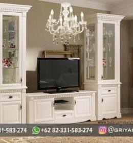 Bufet Meja TV Furniture Jati Murah