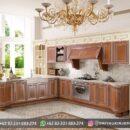 Desain Kitchen Set Ukiran Murah