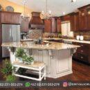Kitchen Dapur Ukiran Model Minimalis