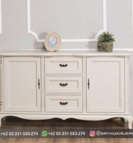 Meja Bufet Furniture Jati Murah