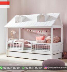 Desain Tempat Tidur Anak-Anak Mewah Jepara