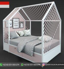 Desain Tempat Tidur Anak-Anak Murah Mebel Jepara