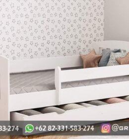 Dipan Tempat Tidur Anak Model Mewah Jepara