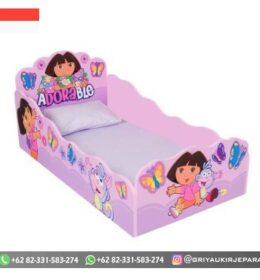Model Tempat Tidur Anak-Anak Karakter Mebel Jepara
