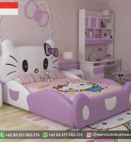 Model Tempat Tidur Anak-Anak Karakter Murah