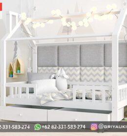 Model Tempat Tidur Anak-Anak Mewah Mebel Jepara