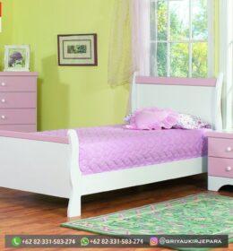 Model Tempat Tidur Anak-Anak Modern Jepara