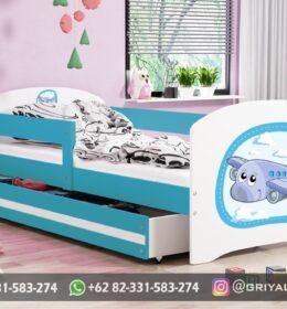 Model Tempat Tidur Anak Karakter Jepara