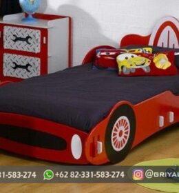 Model Tempat Tidur Anak Karakter Minimalis