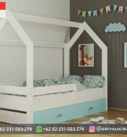 Model Tempat Tidur Anak Mewah Mebel Jepara