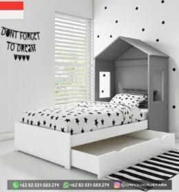 Model Tempat Tidur Anak Modern Jepara