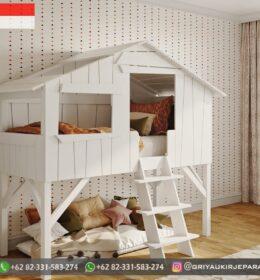 Model Tempat Tidur Anak Tingkat Jepara