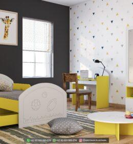 Set Tempat tidur Anak-Anak Jati Mebel Jepara