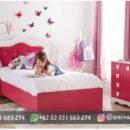 Set Tempat tidur Anak-Anak Jati Minimalis