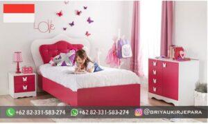 Set Tempat tidur Anak Anak Jati Minimalis 300x180 - Set Tempat tidur Anak-Anak Jati Minimalis