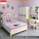 Set Tempat tidur Anak-Anak Jati Simpel