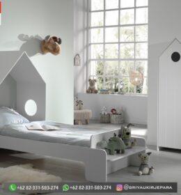 Set Tempat tidur Anak-Anak Mewah Mebel Jepara
