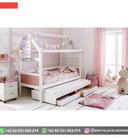 Set Tempat tidur Anak-Anak Mewah Simpel