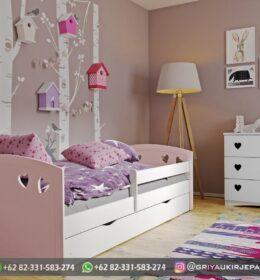 Set Tempat tidur Anak-Anak Modern Jepara