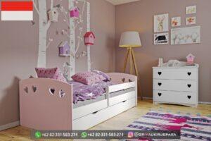 Set Tempat tidur Anak Anak Modern Jepara 300x200 - Set Tempat tidur Anak-Anak Modern Jepara
