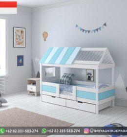 Set Tempat tidur Anak-Anak Terbaru Murah