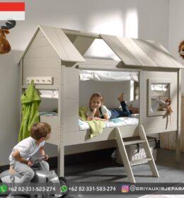 Set Tempat tidur Anak-Anak Tingkat Mebel Jepara